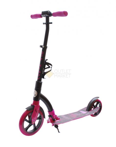 Самокат COD-X 4.0 Черно-розовый